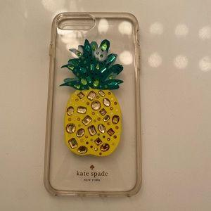 pineapple kate spade phone case